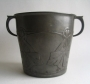 Archibald Knox Tudric pewter ice bucket Liberty &amp; Co