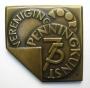 Christien Nijland 75 jaar Vereniging voor Penningkunst penning