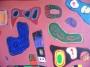Marijn kleurrijke compositie