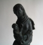 Niel Steenbergen Madonna de Quay bronzen beeld
