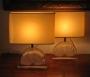 Set van twee Daum lampen